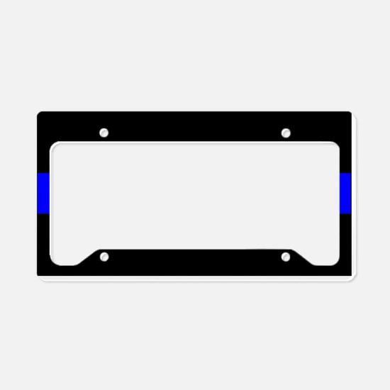 Cute Police officer License Plate Holder