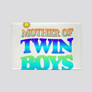 Twin boys mother Magnets