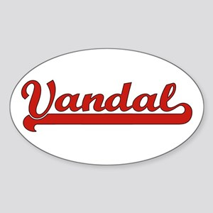 Vandal Oval Sticker
