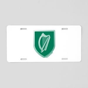 IE Gaelic Harp Ireland/Eire Aluminum License Plate
