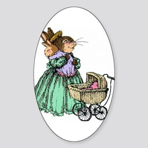 Mothers day Oval Sticker