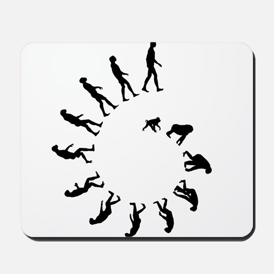 Evolution Spiral Mousepad