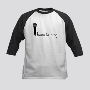 Born to Sing Kids Baseball Jersey