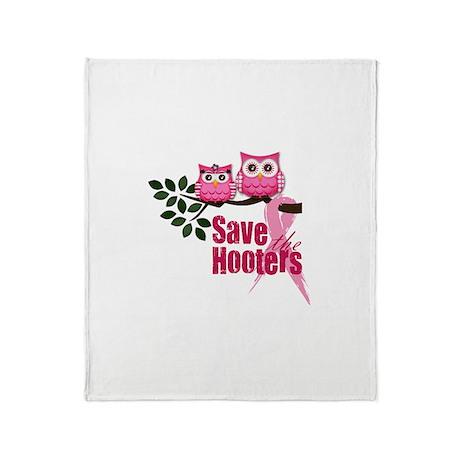 Hooters 2 Throw Blanket