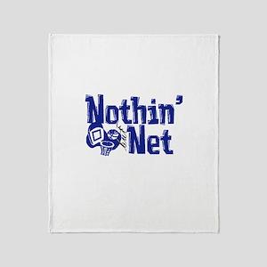 Nothin But Net Throw Blanket