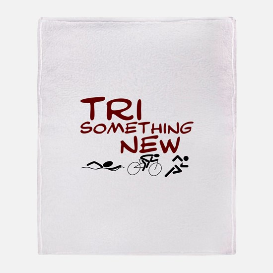Tri Something New Throw Blanket