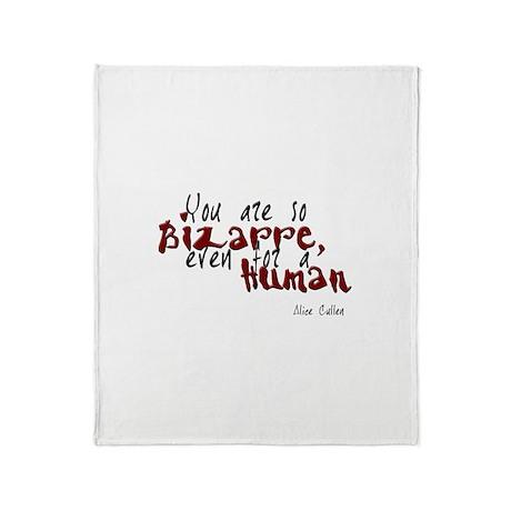 Bizarre Human Throw Blanket