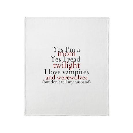 Vampires & Werewolves Throw Blanket