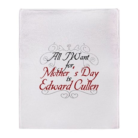 Mother's Day Edward Throw Blanket