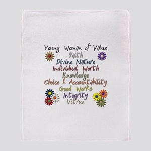 YW of Value Throw Blanket