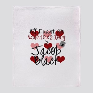 Valentine Jacob Throw Blanket