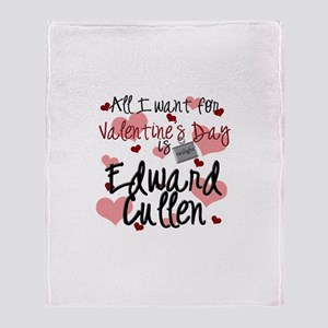 Valentine Edward Throw Blanket