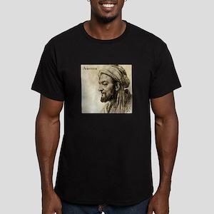 Avicenna Men's Fitted T-Shirt (dark)