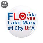 "Florida 3.5"" Button (10 pack)"