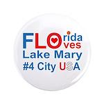 """Florida 3.5"""" Button"""