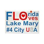 Florida Rectangle Magnet (10 pack)