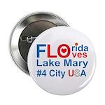 """Florida 2.25"""" Button"""