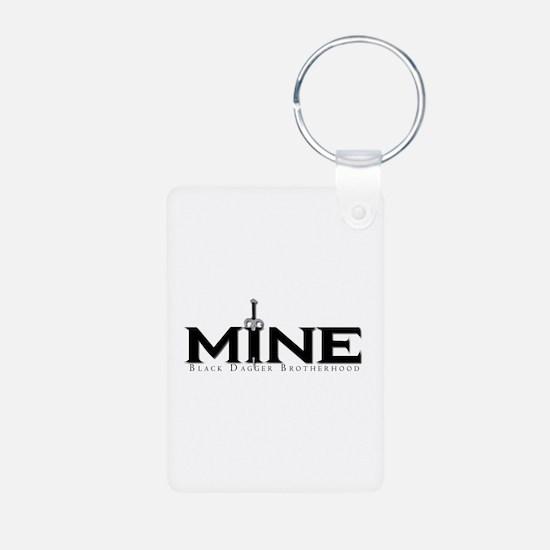 Mine Aluminum Keychain