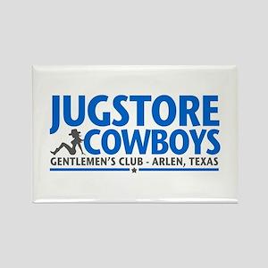 Jugstore Cowboys Rectangle Magnet