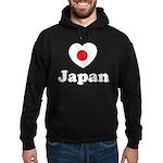 Love Japan Hoodie (dark)