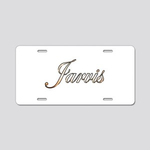 Gold Jarvis Aluminum License Plate