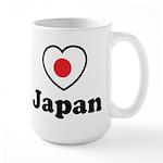 Love Japan Large Mug