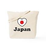 Love Japan Tote Bag
