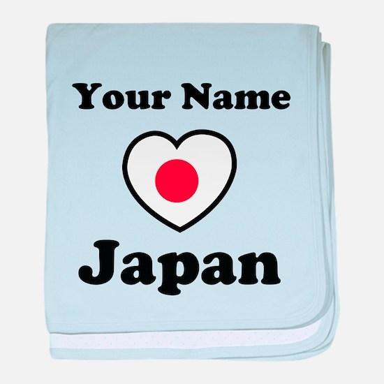 Personal Japan baby blanket