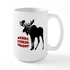 Merry Chrismoose Large Mug