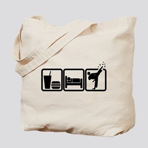 EAT-SLEEP-TKD Tote Bag