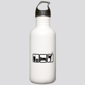 EAT-SLEEP-TKD Stainless Water Bottle 1.0L