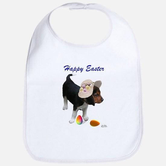 Easter Beagle Cotton Baby Bib