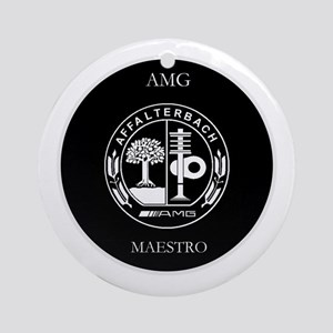AMG Maestro Ornament (Round)