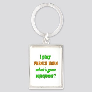 I play French Horn what's your s Portrait Keychain