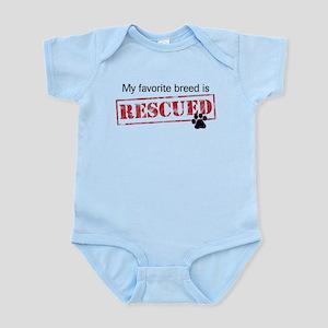 Favorite Breed Is Rescued Infant Bodysuit