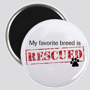 Favorite Breed Is Rescued Magnet