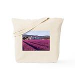 Lavender Field Provence Tote Bag