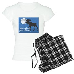 Once In A Blue Moose Pajamas