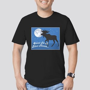 Once In A Blue Moose Men's Fitted T-Shirt (dark)