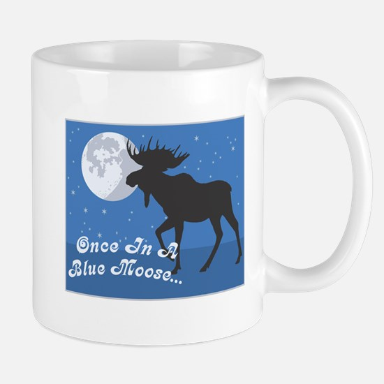 Once In A Blue Moose Mug