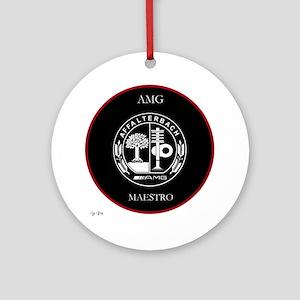 AMG Maestro RedLine Ornament (Round)