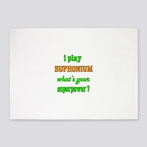 I play Euphonium what's your superp 5'x7'Area Rug