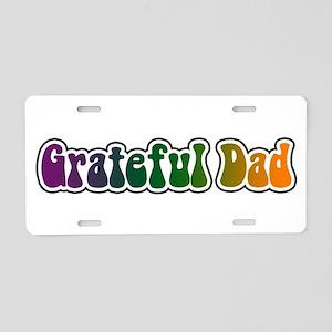 Grateful Dad Aluminum License Plate