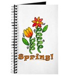Spring Flowers Journal