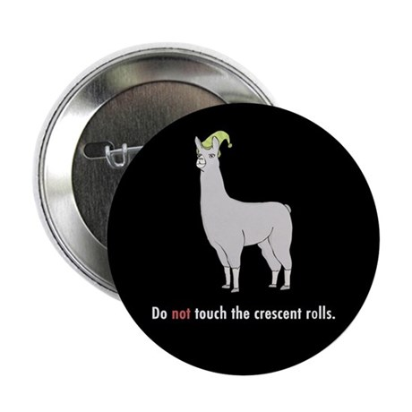 "Crescent Rolls 2.25"" Button"
