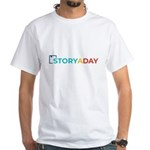 Storyaday Logo T-Shirt (white)