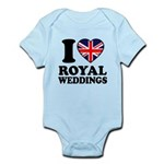 I Love Royal Weddings Infant Bodysuit