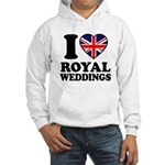 I Love Royal Weddings Hooded Sweatshirt