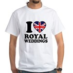 I Love Royal Weddings White T-Shirt