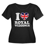 I Love Royal Weddings Women's Plus Size Scoop Neck